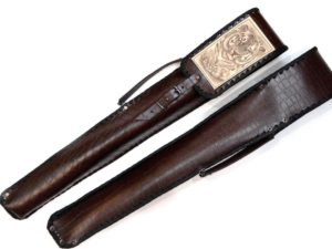 Чехол для шампуров ручной работы Охота