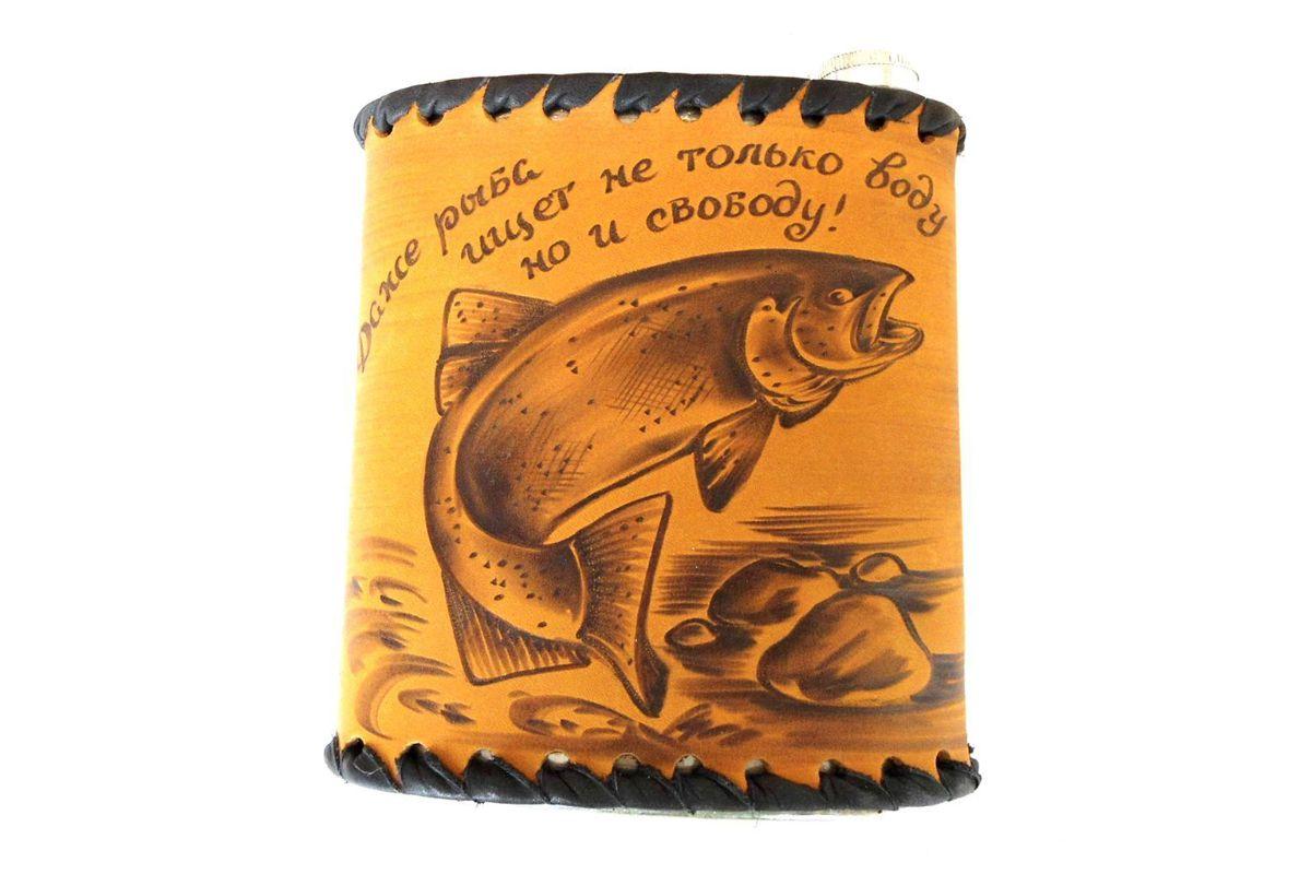 Фляжка походная для рыбака
