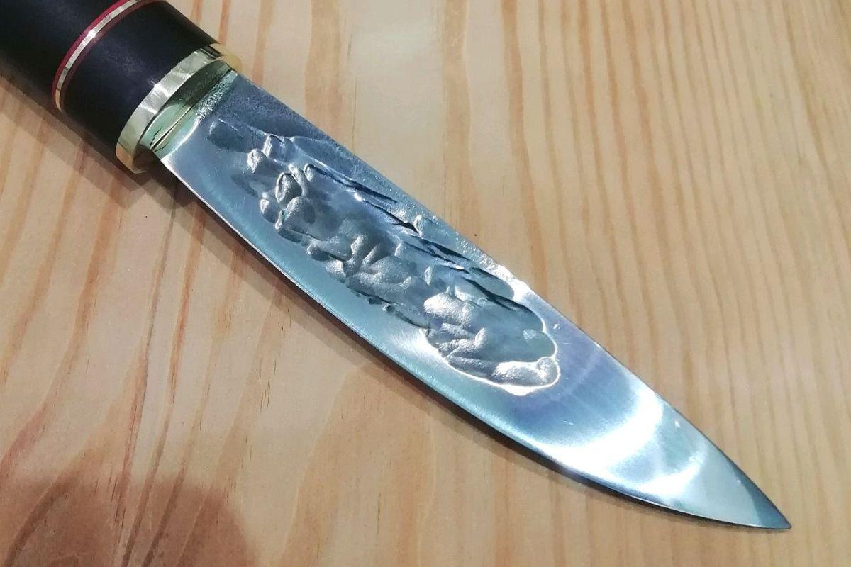 Нож Якут клинок