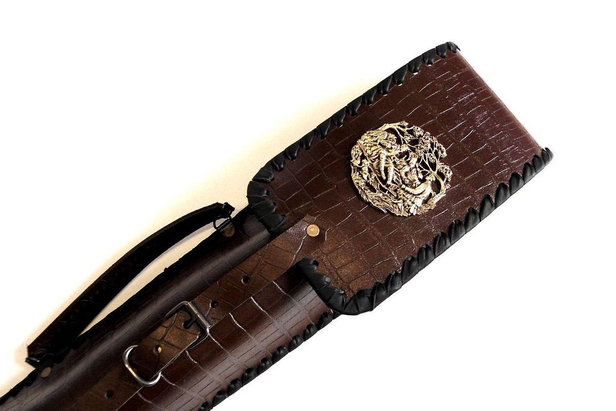 Чехол для подарочных шампуров Охотники на привале купить