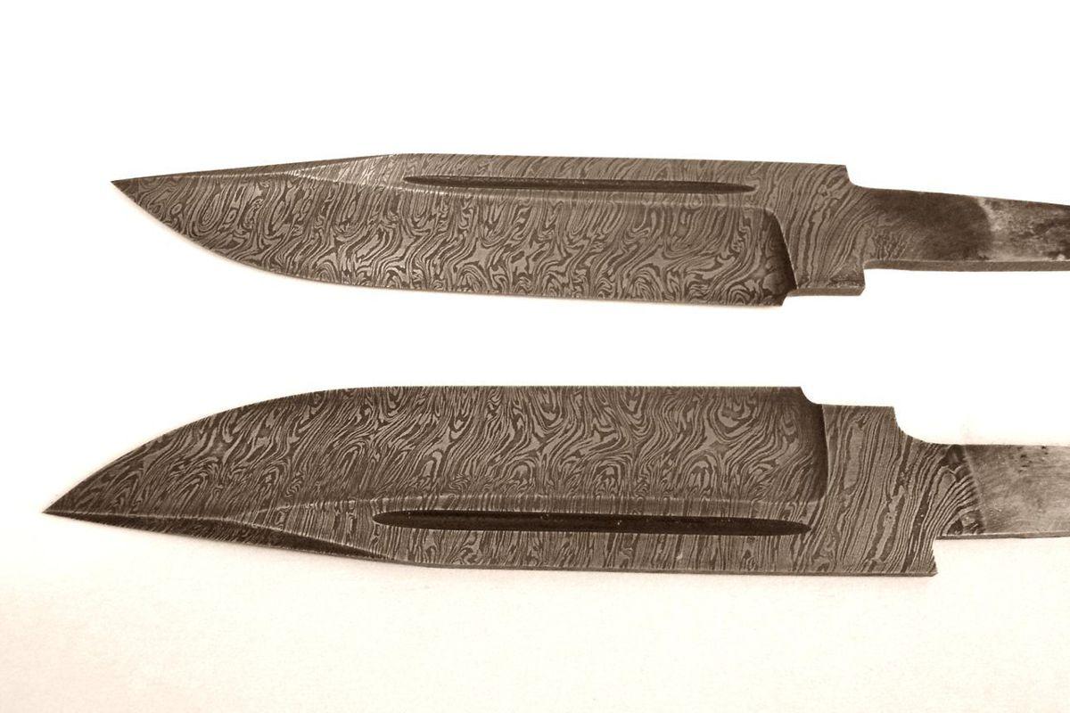 Клинок кованый из дамасской стали цена