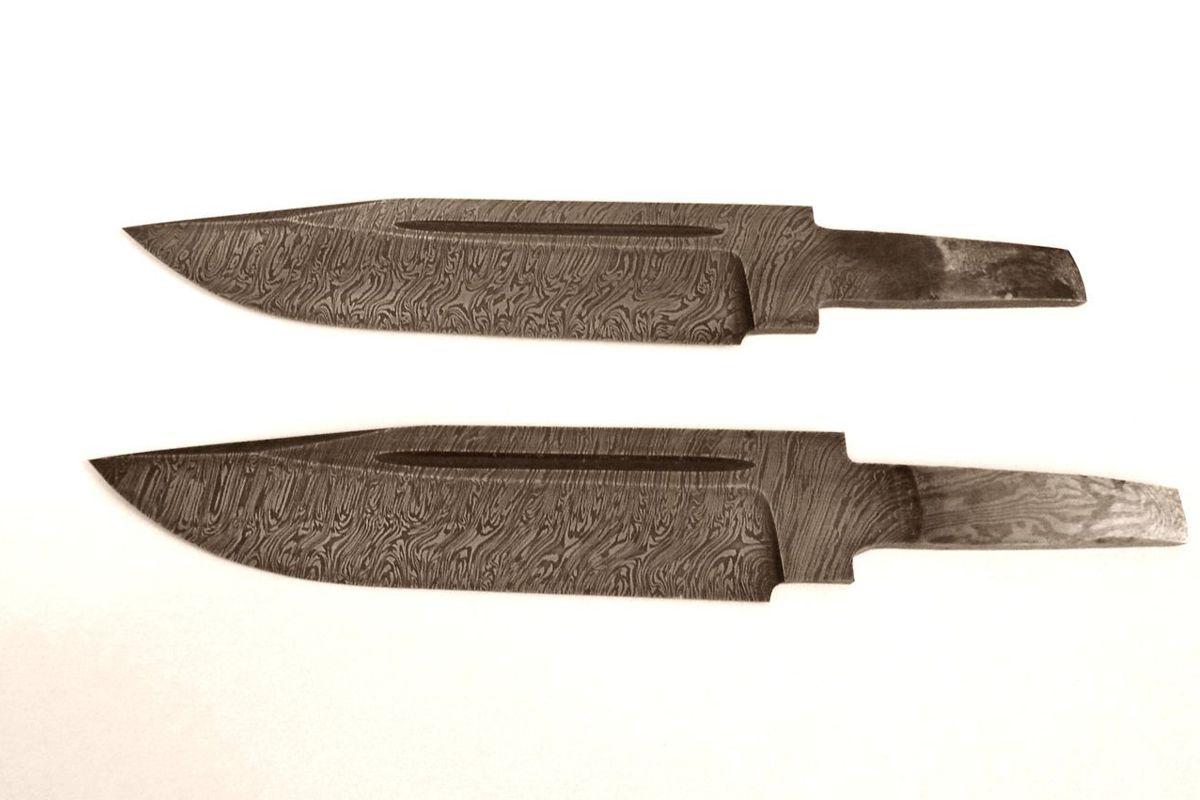 Клинок кованый из дамасской стали купить