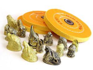 Круг полировальный муслиновый Желтый купить