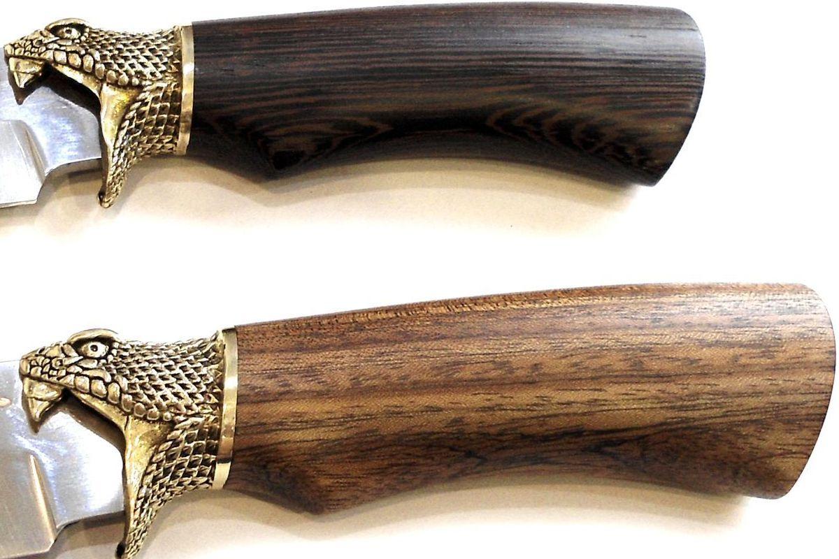 Нож кованый кобра павловский с литьем