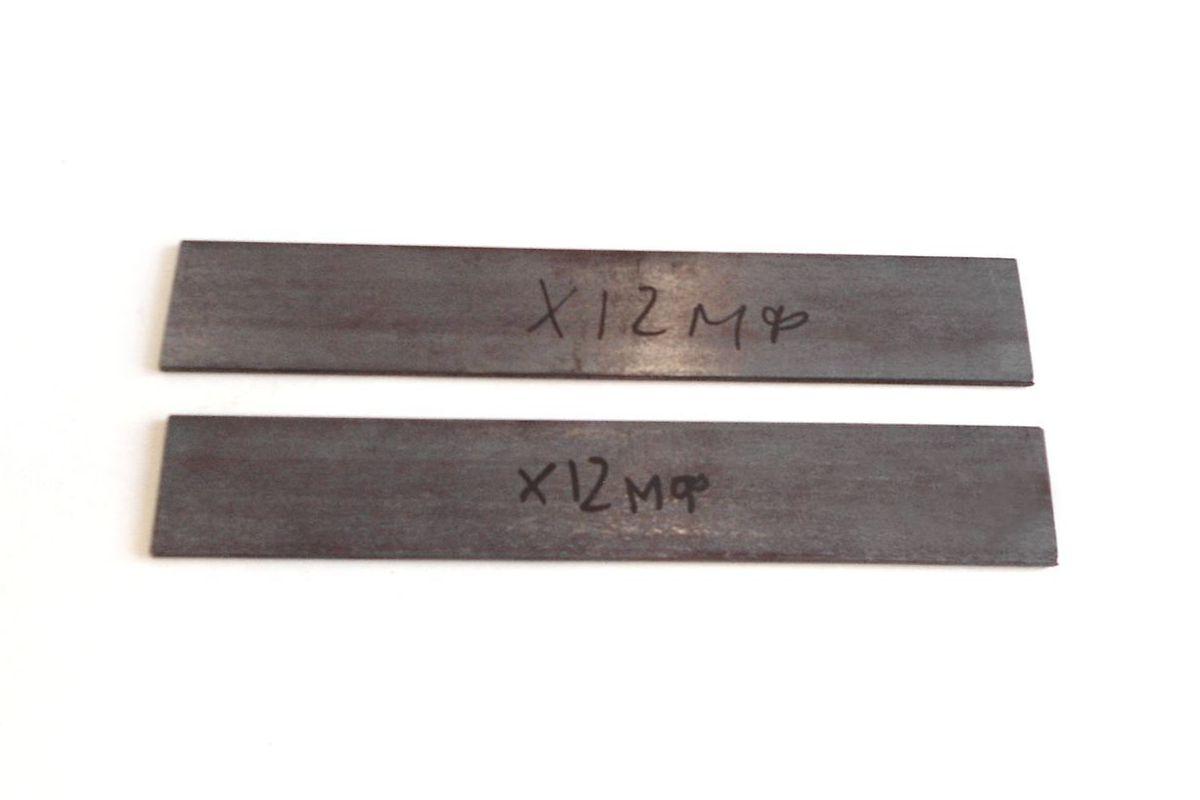 Полоса стали для клинка х12мф горячекатаная купить
