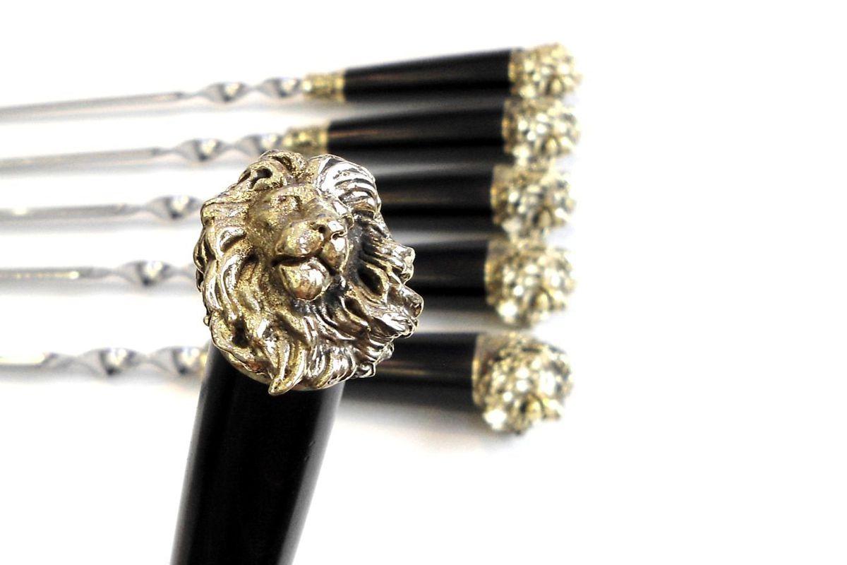 Подарочный набор шампуров Лев купить